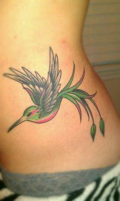 MY Hummingbird tattoo. <3