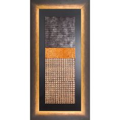 """Civilized Gold Framed Art II terrific for high ceiling rooms. 57 x 27"""" each DesignNashville.com shipping to all locations"""