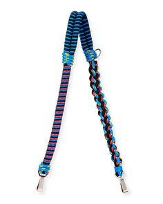 PROENZA SCHOULER Braided Cord Shoulder Strap, Blue/Red. #proenzaschouler #bags #shoulder bags #