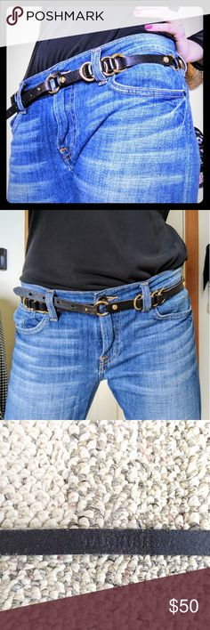 Tarnish brand belt. Purchased from Nordstroms 100% genuine leather belt. Size s/m. Used tarnish Accessories Belts
