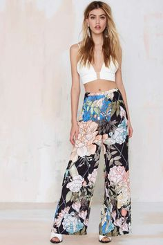 These pants are amazing. Keepsake We Run It Wide-Leg Pant | Shop Brand Crushes at Nasty Gal