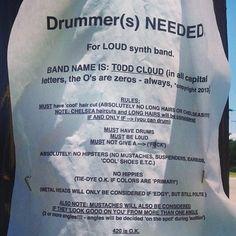 Drummer(s) NEEDED