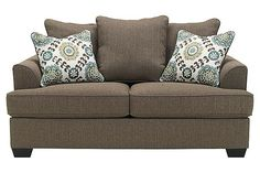 The Porters Gate Sofa From Ashley Furniture Homestore Flowing With Rich Traditional