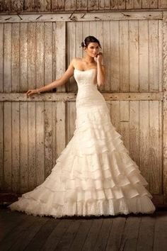 If I could have a second wedding or redo my first...this would be my dress!