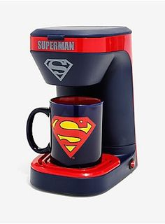 One Cup Coffee Maker K Cup Coffee Makers Removable Water Tank Single Cup Coffee Maker, Single Serve Coffee, Christmas Soup, Pour Over Coffee, Great Coffee, Superman, Batman Vs, Mugs Set, Coffee Cans