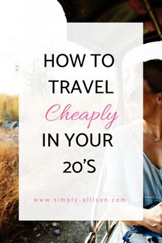 How to Travel on a College Budget. - Simply Allison When you are broke but want to travel and see the world. Traveling on a college budget may seem hard but here are some tips on ways I save money traveling on a college budget. College Student Budget, Student Travel, College Students, College Tips, College Checklist, College Dorms, Spring Break Quotes, Spring Break Party, Spring Break Destinations
