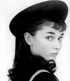 Audrey Hepburn. This one is cute.