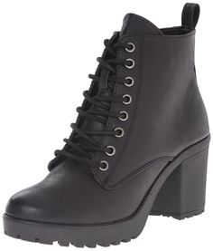 MIA Women's Kat Combat Boot -- See this great image  at Boots Shoes board