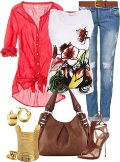 """Casual Outfit"" by angela-windsor on Polyvore"