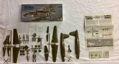 VINTAGE 1966 MARTIN B-26 MARAUDER FLAK BAIT 1/72 SCALE WWII PLANE MODEL KIT NEW    eBay
