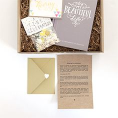 This is really cool!  Olive Box is a monthly subscription for paper lovers and this box is filled with amazing surprises!