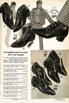 Sixties shoes