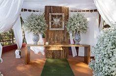 decoracao cerimonia casamento ar livre