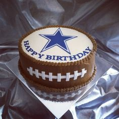 Dallas Cowboys Cake Would Be An Awesome Birthday Present