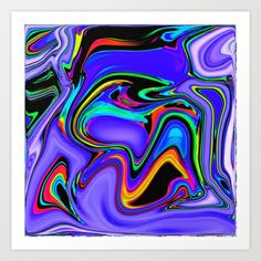 Immiscible Art Print by David  Gough - $15.00