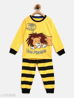 Nightsuits Fancy Cotton Blend Printed Night Suit Fabric: Top - Cotton Blend  Pant - Cotton Blend Sleeves: Sleeves Are Included Neck: Round Neck Size: Age Group (1 - 2 Years) - 18 in Age Group (2 - 3 Years) - 20 in Age Group (3 - 4 Years) - 22 in Age Group (4 - 5 Years) - 24 in Age Group (5 - 6 Years) - 26 in Age Group (6 - 7 Years) - 28 in Age Group (7 - 8 Years) - 30 in Type: Stitched Description: It Has 1 Piece Of Girl's Top & 1 Piece Of Pant Work: Top - Printed  Pant - Printed Country of Origin: India Sizes Available: 2-3 Years, 3-4 Years, 4-5 Years, 5-6 Years, 6-7 Years, 7-8 Years, 1-2 Years   Catalog Rating: ★4.2 (478)  Catalog Name: Girl's Fancy Cotton Blend Printed Night Suits Vol 2 CatalogID_438297 C62-SC1158 Code: 592-3187222-207