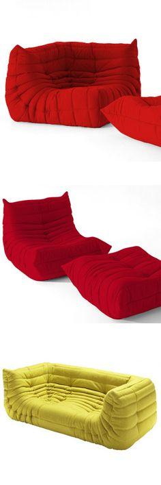 Michel Ducaroy Togo Seating Collection. Design ColorLighting Design