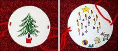Thaumatrope - A lit Christmas tree