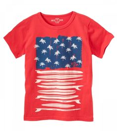 Flag Tee | Ruum. If you liked Ruum, you'll LOVE kidpik! Get more info at www.kidpik.com