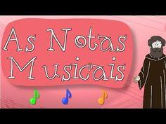 GUGUDADA - As Notas Musicais (animação infantil) - YouTube