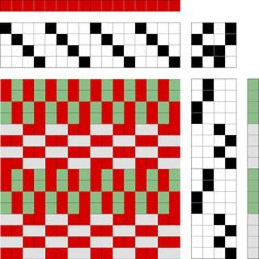 Banner Mountain Textiles  good draft for thick and thin combos