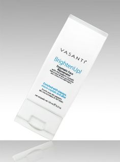 Vasanti Cosmetics Brighten Up! Enzymatic Face Rejuvenator with Microderm Exfoliating Crystals - Treats Dull, Uneven Skintone Vasanti Cosmetics Lemon Face Scrubs, Exfoliating Scrub, Exfoliating Products, Exfoliate Face, Younger Skin, Face Treatment, Uneven Skin Tone, Tear, Face Skin Care
