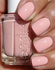 Baby Pink Nail Polish Inspirational Essie Like to Be Bad Pastel Pale Pink Nails<br> Love Nails, Pink Nails, How To Do Nails, Pretty Nails, Bad Nails, Glitter Nails, Essie Nail Polish, Nail Polish Colors, Essie Colors