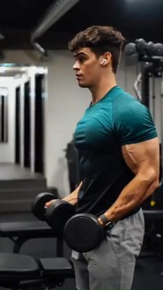 Dumbbell Workout Plan, Bicep And Tricep Workout, Abs And Cardio Workout, Calisthenics Workout, Killer Workouts, Weight Training Workouts, Gym Workout Tips, Workout Challenge, Workout Videos