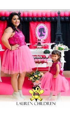 Vestido Mãe e Filha Princesa