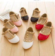 Kids Girls Shoes Princess Rivet Studded Toddlers Gladiator Flat Walking Sandals  #madeinchina #CasualShoes