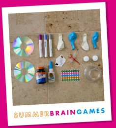 A simple hovercraft activity from MSI's Summer Brain Games program. Science Experiments Kids, Science For Kids, Science Activities, Summer Activities, Brain Games, Cool Kids, Homeschool, Museum, Simple