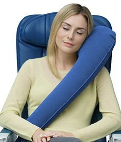 Travelrest - Ultimate Travel Pillow - Lean Into It & Slee...