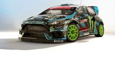 2015 Ken Block Ford Focus RS gymkhana – imagined by carwow   carwow