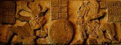 Los señores divinos de toniná creando el universo. Cultura Maya.
