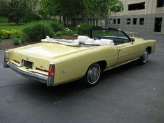 1975 Cadillac Eldorado -   Bombay Yellow by That Hartford Guy, via Flickr