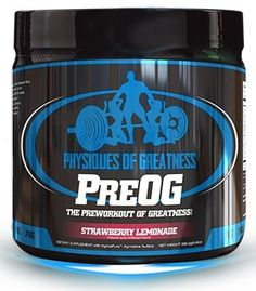 Physiques of Greatness PreOG Pre-Workout Supplement