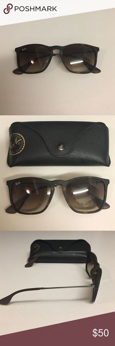 RayBan Erika Classic Sunglasses in tortoise Authentic RayBans. Barely worn.  No scratches. Ray 421016f057b2