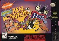 AAAHH!!! Real Monsters Snes
