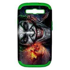 Samsung Galaxy S3 Shock Resistant Case - The Joker - Silicon Inner