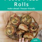 Pizza Rolls Recipe with Pesto (Simple Ingredients + Hidden Greens!)