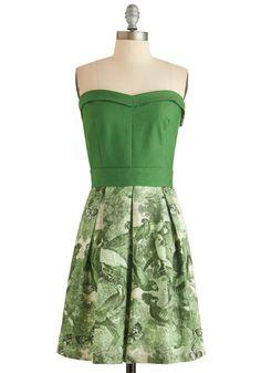 Cute vintage Baylor green dress