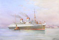 Rex 1932, Italia di Navigazione, Italia