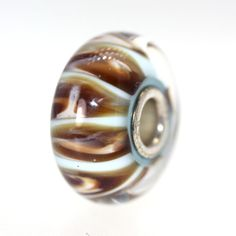 A great version of this bead!  Trollbeads Gallery - Aquarium Pastel With A Twist:01, $31.00 (http://www.trollbeadsgallery.com/aquarium-pastel-with-a-twist-01/)