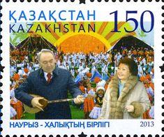 Stamps of Kazakhstan, - Nursultan Nazarbayev - Wikipedia Postmodernism, Kazakhstan, Cuba, Baseball Cards, Israel, Sports, Stamps, Hs Sports, Seals