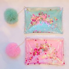 Diy For Kids, Crafts For Kids, Stationary School, Transparent Bag, Cute School Supplies, Cute Stationery, Pencil Bags, Kids Prints, Kids Bags