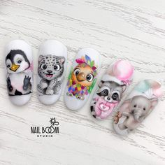 Pin on Nail Health Care Pin on Nail Health Care Disney Acrylic Nails, Best Acrylic Nails, Disney Nails, Animal Nail Designs, Animal Nail Art, Owl Nails, Pink Nails, Minion Nails, Cute Nail Art