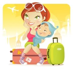 Tons of tips, printable check lists, and more for flying with kids of any age.