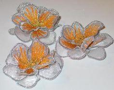 3D Organza Flower