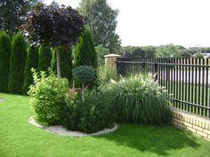 Front Garden Landscape, Landscape Plans, Garden Fencing, Landscape Design, Garden Design, Backyard Plan, Front Gardens, Garden Makeover, Modern Outdoor Furniture
