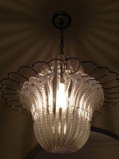 Coat hanger chandelier, somewhere to hang your hat? Amazing!
